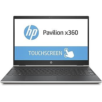 HP Pavilion x360 15-cr0004ng 39,56 cm (15,6 Zoll Full HD IPS) Convertible Notebook (Intel Core i5-8250u, 8GB RAM, 1TB HDD, 128GB SSD, Intel UHD Grafik, Windows 10 Home) silber/schwarz