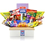 getDigital Candy Roads USA Box - Über 30 amerikanische Süßigkeiten, Snacks & Getränke in einer XXL Jumbo Geschenkbox - Süßigk