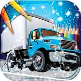 Livre de coloriage de camions