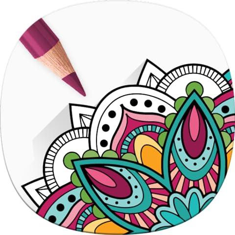 Mandala da Colorare - Colori Scheda Libro