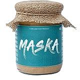 Maska Natural Peanut Butter Crunchy 500 G Unsweetened ( Gluten Free / Plant Based Protein / Vegan / Vegetarian / Keto Friendl