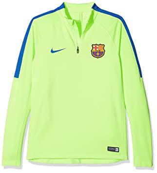89290215a82 Nike Children s Fcb Sqd Dril Long Sleeve Top  Amazon.co.uk  Sports    Outdoors