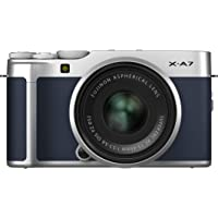 Fujifilm X-A7 24.2 MP Mirrorless Camera with XC 15-45 mm Lens Limited Edition (APS-C Sensor, Touchscreen, Face/Eye Auto…