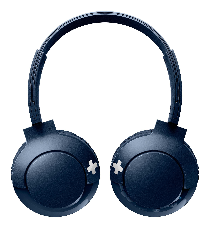 Philips Bass+ – Auriculares de Diadema Plegables
