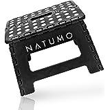 NATUMO® Tabouret pliable, aide à la montée, repose pieds, pour jardin, cuisine, salle de bain,150kg, pliable, pour enfants e