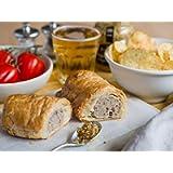 The Real Pie Company - Pork & Wholegrain Mustard Sausage Rolls (6 x 180g) - Fresh Baked to Order - Award Winning Premium…