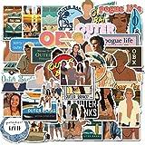 PRXD 50 Pcs Sticker Pack, Graffiti Sticker Decals Vinyls for Laptop, Kids, Teens, Water Bottles, Skateboard, Luggage, Motorcy