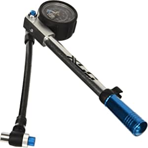 m XLC Minipumpe Race PU-R01 Universal-Halterung Fahrradpumpe silber für SV