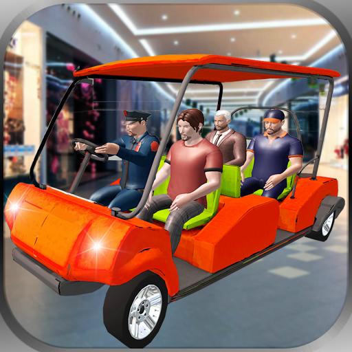 Einkaufszentrum Smart Taxi Car Driving und Parking Game (Für Driving Mädchen Spiele)