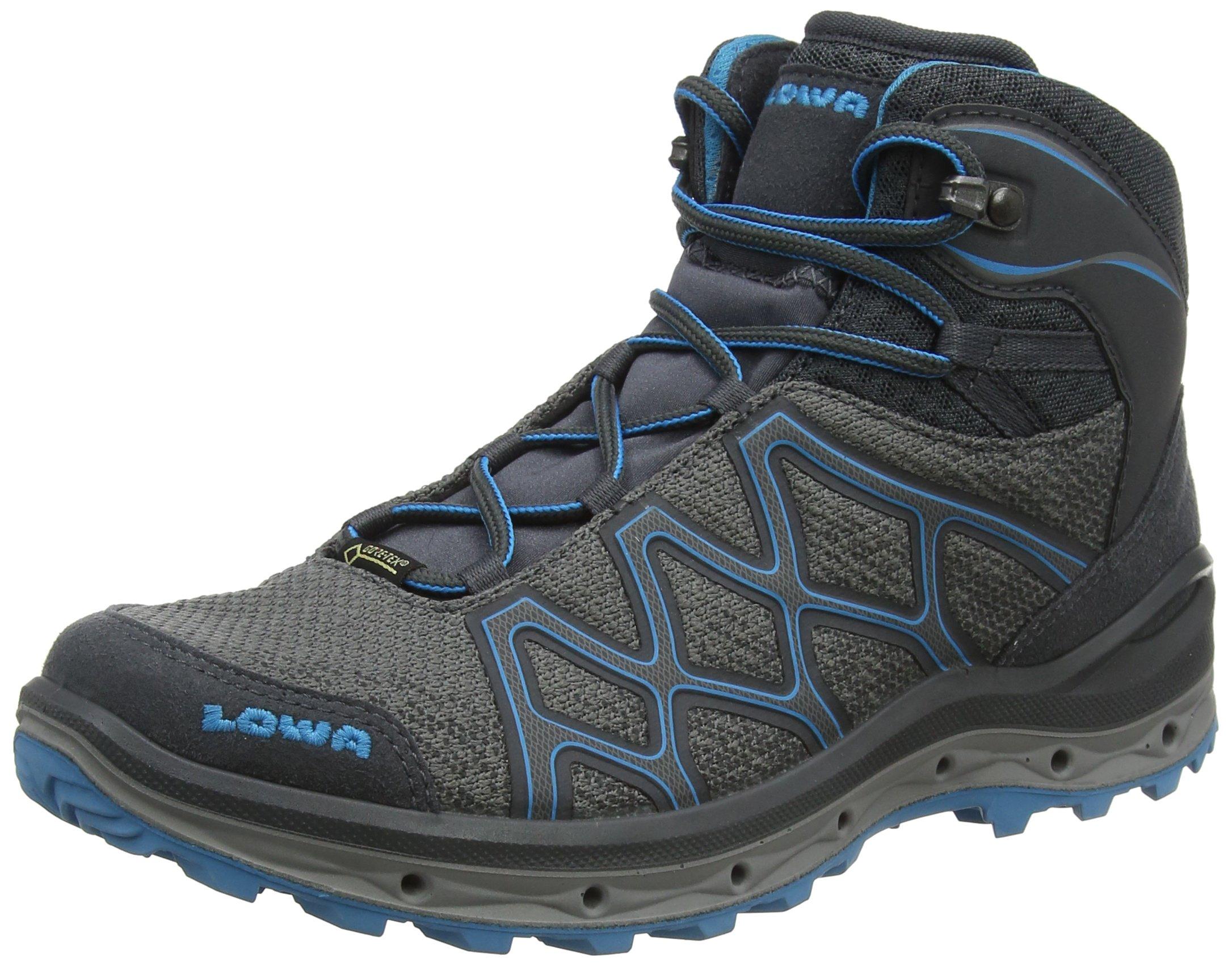 81NMkQ3XqLL - Lowa Women's AEROX GTX MID W High Rise Hiking Boots