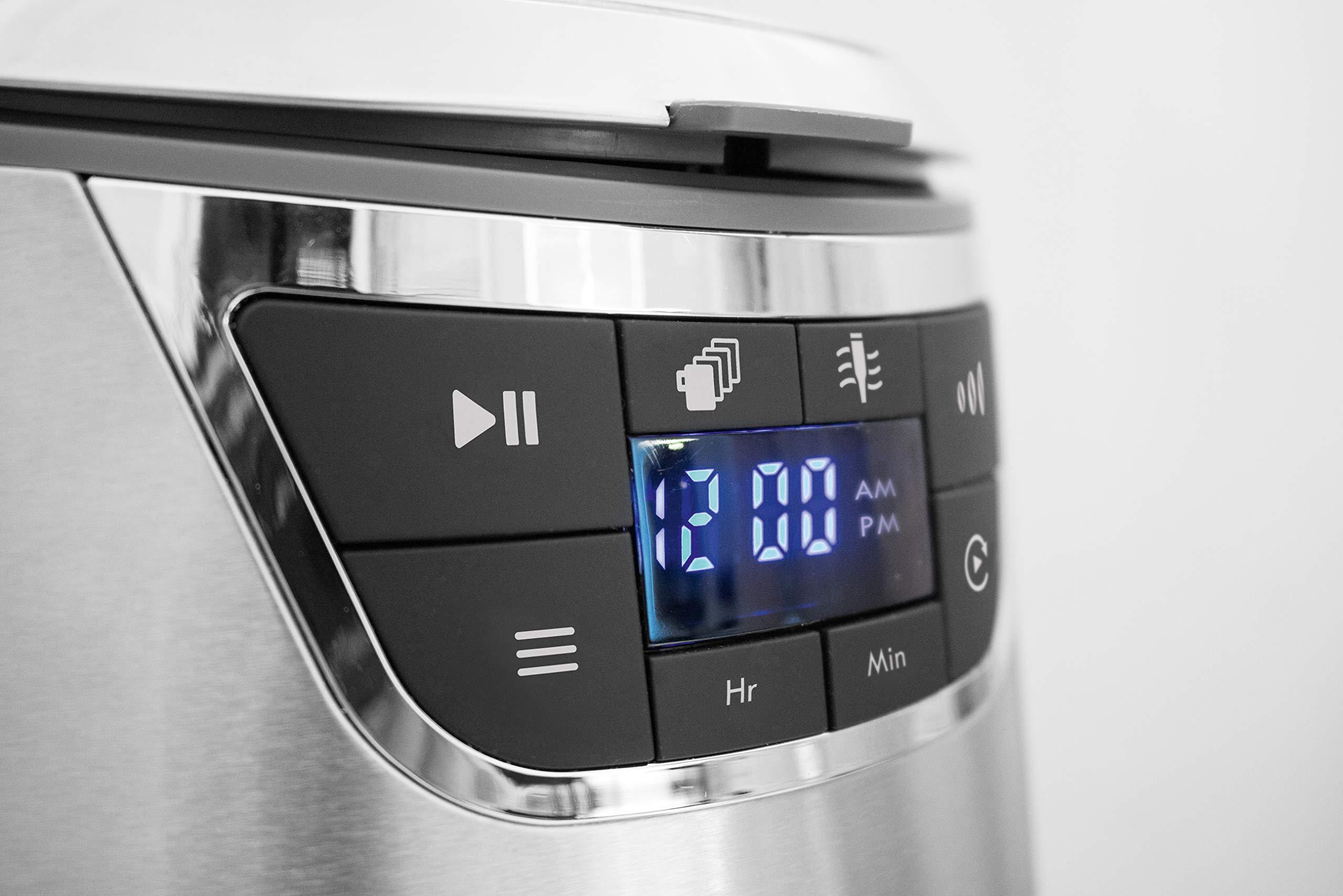 CASO-NOVEA-C4-Design-Filter-Kaffeemaschine-1000-Watt-Brhtemperatur-ca-96C-fr-126-Tassen-LED-Display