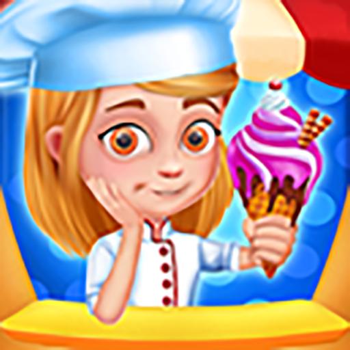 Eisdiele für Kinder und Eis (Eis-e-saft)