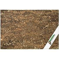XL Cork Tile Background 90x60 cm (Terrarium Background), 3D Cork Rear Wall 90x60 cm cleaned & sanitised