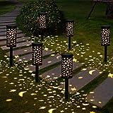 Lámparas Solares para Jardín Golwof 6 Piezas Luz Solar Exterior Jardin Luces Solares Jardin Exterior Decorativas Farolillos S