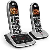 BT 4600 Big Button Advanced Call Blocker Home Phone with Answer Machine (Twin Handset Pack)