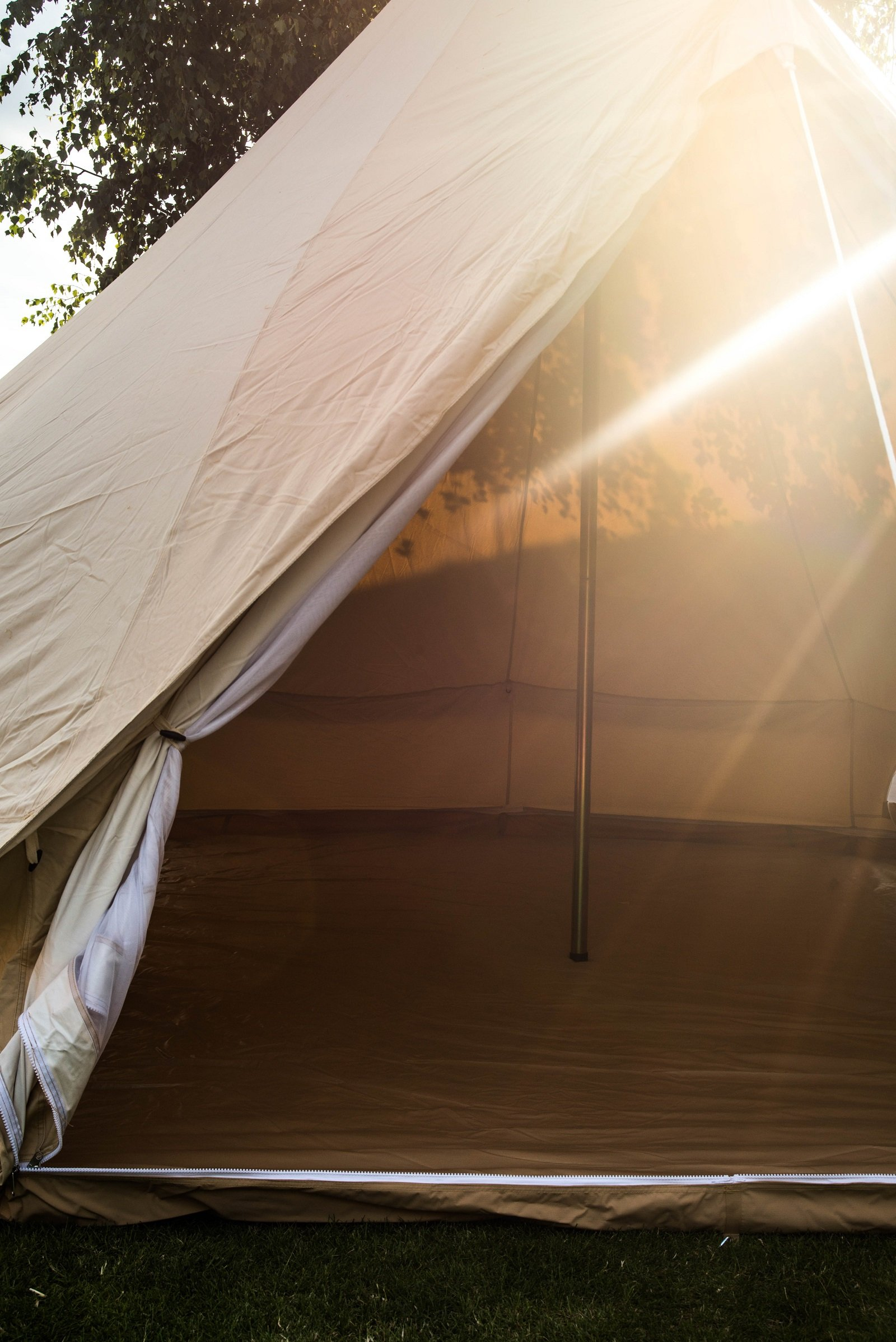 Bell Tent 3 metre with zipped in groundsheet by Bell Tent Boutique 7