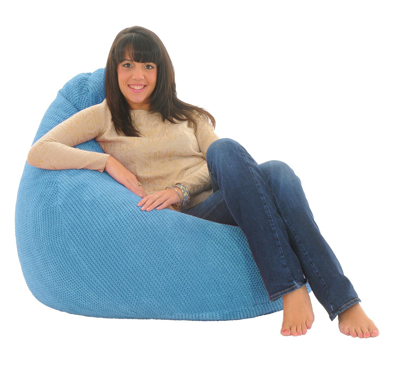ADULT HIGHBACK Soft & Snugly Designer Chair Bean Bag Gaming