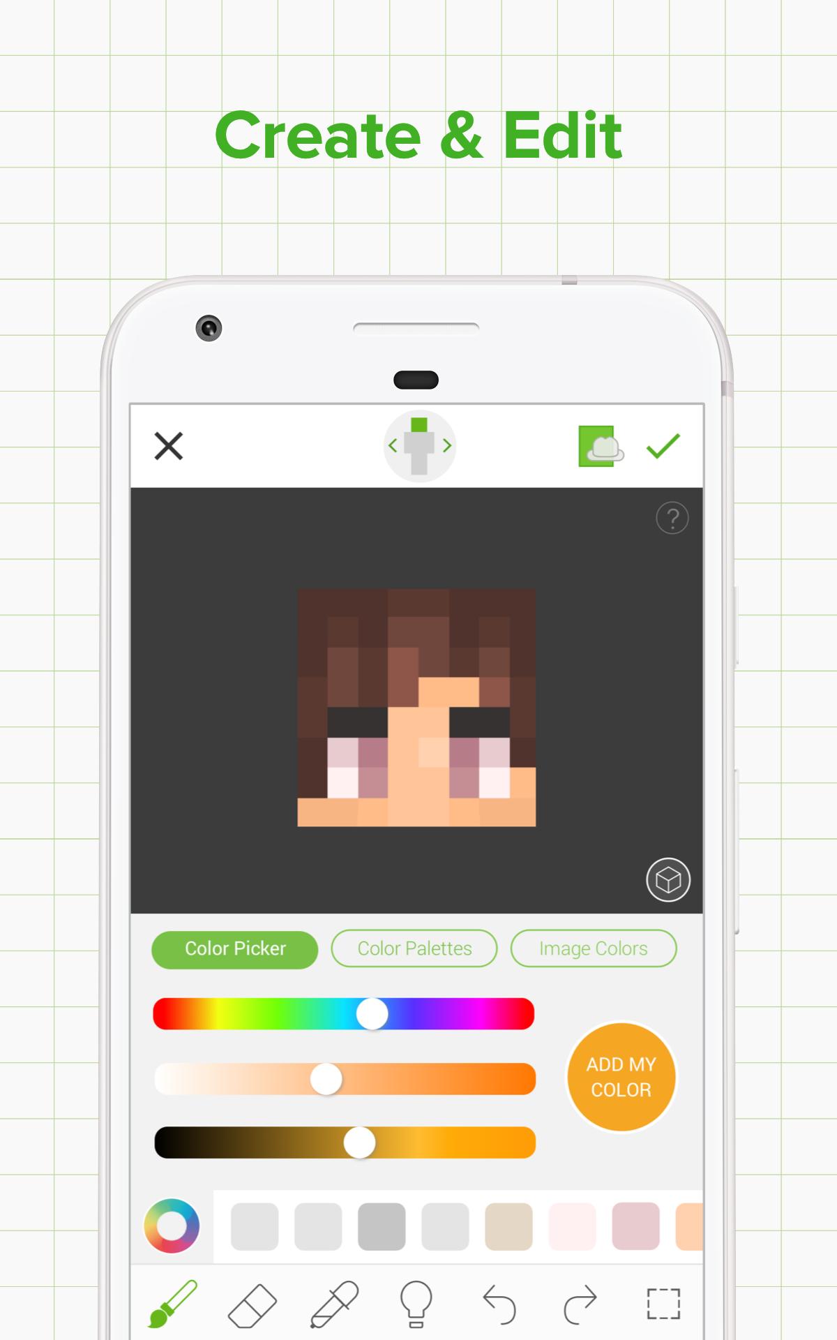 Skinseed - Skin Creator & Skins Editor for Minecraft: Amazon