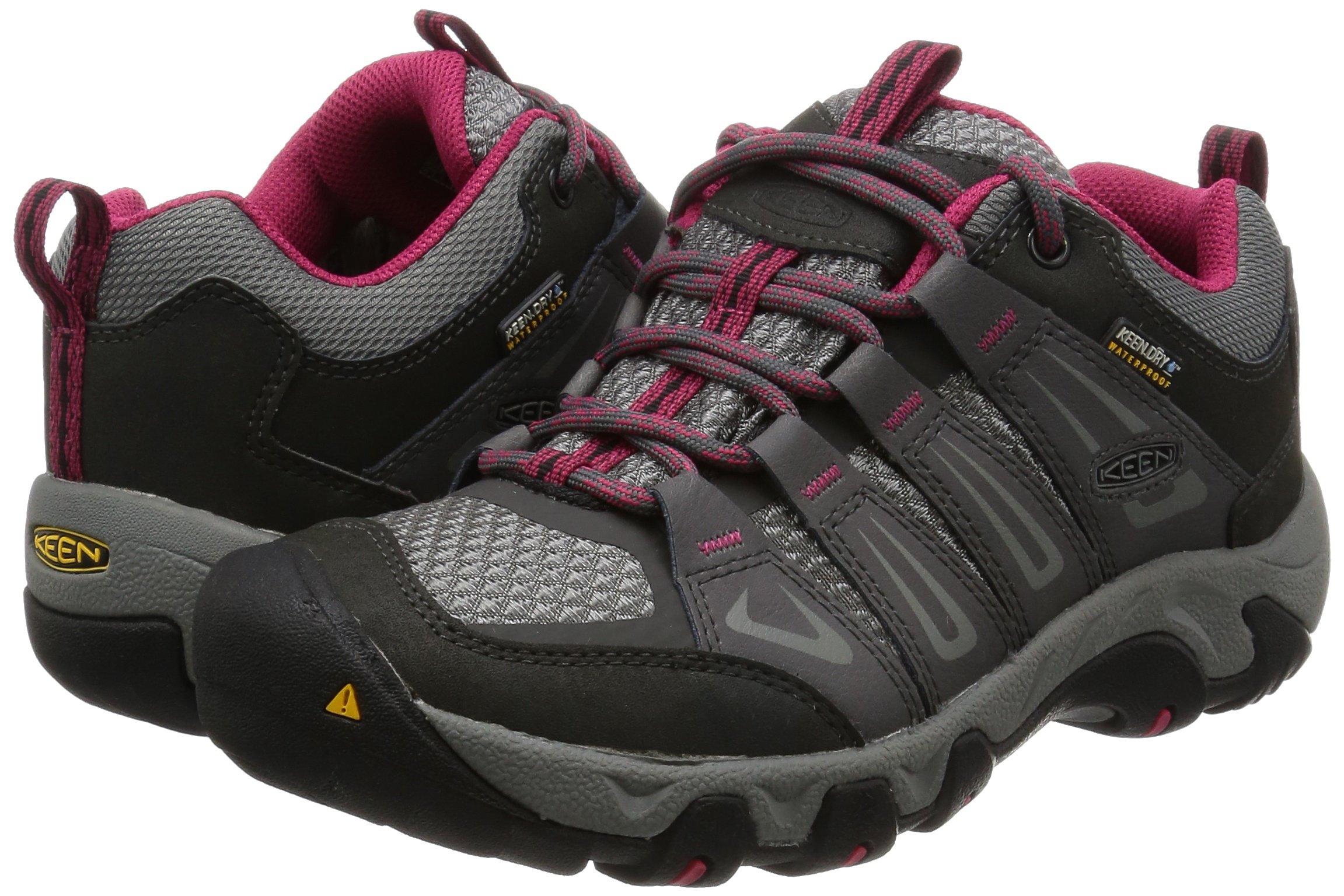 KEEN Women's Oakridge Wp Low Rise Hiking Shoes 6
