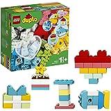 LEGO DUPLO Classic Hartvormige doos 10909 eerste bouw- en speelset en leerzaam speelgoed; geweldig ontwikkelingsspeelgoed voo