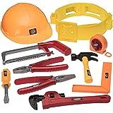 Outils de bricolage pour enfants avec perceuse, casque et tout l'équipement d'un bricoleur - Mieux qu'une caisse à outils et qu'un établi, découvrez la ceinture à Outils