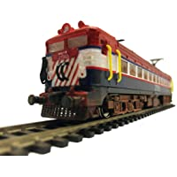 The Pink Engine --- Indian Railways WAG7 Tiger Face HO Gauge 1:100 Scale Rolling Model