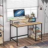 Tribesigns Bureau d'ordinateur Bureau d'écriture Industriel pour étude, Postes de Travail informatiques Table de Bureau PC av