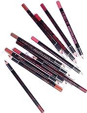 N&M Me Now Super Matte High Precision 12 Lip Pencil Set