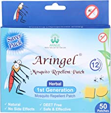 Aringel Mosquito Repellent Patch 1st Generation - Pack of 50 pieces