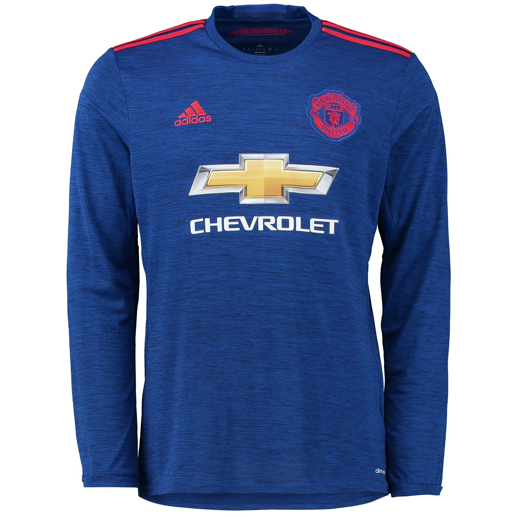 new arrival c50e5 50acb adidas MUFC A JSY L - 2nd football kit T-Shirt for of Manchester United  2015/16 for Men