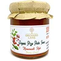 Organic Pizza Pasta Sauce by Orchard Lane - No Preservatives or Chemicals, NO-Sugar- 200 Grams