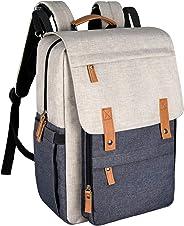 Hap Tim Diaper Bag Backpack Muilti-Function Waterproof Large Capacity Travel Diaper Backpack for Baby Care with Stroller Str