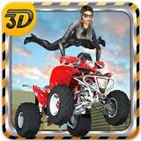 Moto quad gara acrobazia 3D