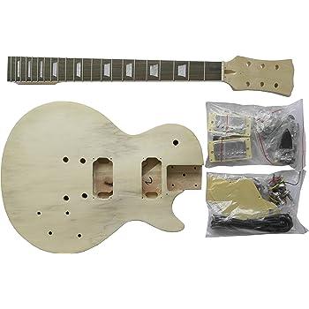 E Gitarre Lp Style Diy Kit Bauen Sie Ihre Eigene Gitarre Amazon
