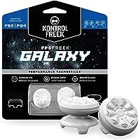 KontrolFreek FPS Freek Galaxy Bianco per PlayStation 4 (PS4) e PlayStation 5 (PS5) | Levette Performance | 1 alta, 1…