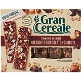 Gran Cereale - Snack Barrette 4 Cereali Nocciola e Cioccolato - Colazione e Snack Dolce - 135 gr