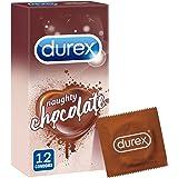 واقيات ذكرية بنكهة الشوكولاتة من دوريكس - عبوة من 12