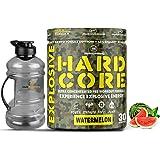 Hulk Nutrition Hardcore Pre-Workout Supplement, Energy Drink with Creatine Monohydrate, Arginine AAKG, Beta-Alanine, Explosiv