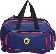 Hard Craft Nylon Waterproof Luggage Travel Duffel Bag(Blue, TBH06BLUWIRE)