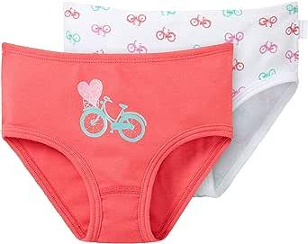 Schiesser - 2pack Hftslips, Slip per bambine e ragazze, Confezione da 2