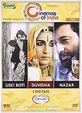 Mani Kaul's Director 3 Dvd Pack (Uski Roti/Duvidha/Nazar)