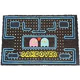 koko doormats felpudos Entrada casa Originales, Fibra de Coco y PVC, Felpudo Exterior Game Over, 40x60x1.5 cm | Alfombra Entr
