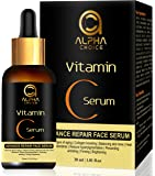 ALPHA CHOICE vitamin c serum for face, Anti aging, Reduce hyperpigmentation, Collagen boosting, Even skin tone, firming…