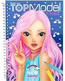 TOPModel 7857 Album da colorare 3d + stickers, modelli assortiti