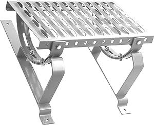 DACHTRITT Steigtritt Kaminpodest 200cm Komplett f/ür Metalldachpfanne Blechpfanne Blechpfannenmodul: 330 mm // 30 mm, Feuerverzinkt