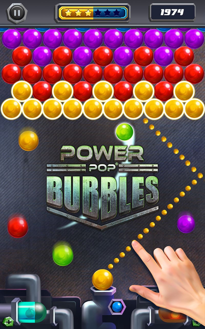 Power Pop Bubble Shooter: Amazon.de: Apps für Android