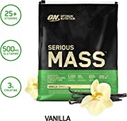 Optimum Nutrition Serious Mass, Vanilla 12 Lbs 2/Cs