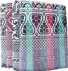 Crazy Prints Solapur Cotton Blanket - (Multicolour)