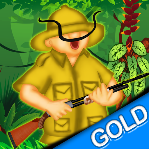 Wald-Safari Tigerjagd - der lustige Jäger Spar niedlichen Tiere - Gold Edition (Lustige Super Safari)