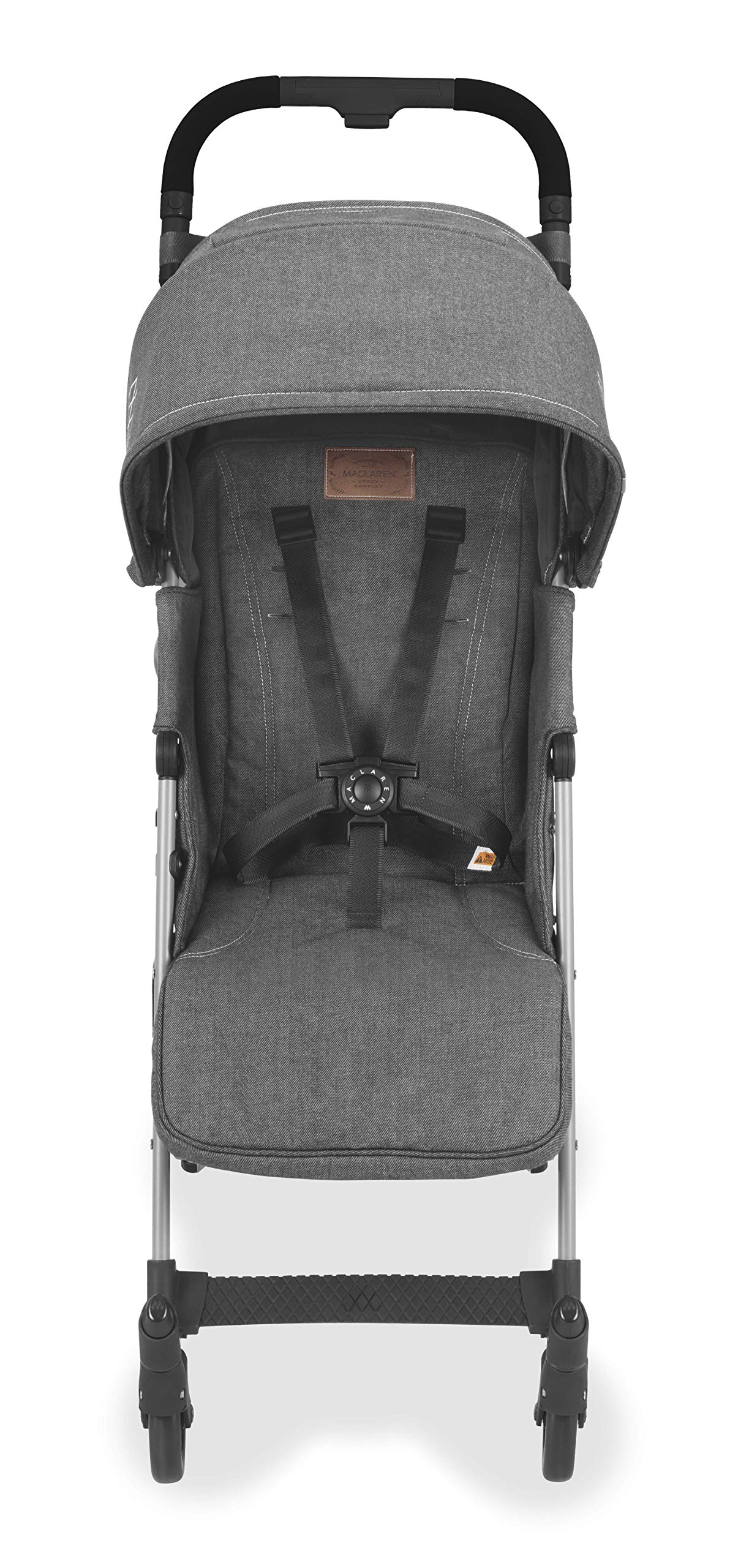 Maclaren Quest Arc Stroller- Ideal for Newborns up to 25kg with extendable UPF 50+/Waterproof Hood, Multi-Position seat and 4-Wheel Suspension. Maclaren Carrycot Compatible. Accessories in The Box Maclaren Lightweight and compact. ideal for newborns and children up to 25kg. you can do it all with one-hand- open, close, push and adjust the seat, footrest and front safety lock Comfy and perfect for travel. the quest arc's padded seat reclines into 4 positions and converts into a new-born safety system. coupled with ultra light flat-free eva tires and all wheel suspension Smart product for active parents. compatible with the maclaren carrycot. all maclaren strollers have waterproof/ upf 50+ hoods to protect from the elements and machine washable seats to keep tidy 9